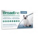 Broadline Chaton moins de 2,5 kg 1 pipettes