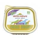 Almo Nature Chien Daily Menu Bio Poulet et Brocoli 9 x 300 grs