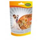Bubimex Crispy Chicken Wings friandise pour chien 100g - La Compagnie des Animaux