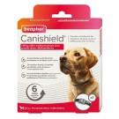 Beaphar Canishield collier grand chien contre les puces, tiques et moustiques 65 cm- La Compagnie des Animaux