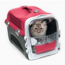 Cat It Cage de transport Cabrio Rouge Cerise pour chat