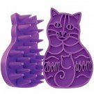 Kong Brosse Zoom Groom Kong Violette pour chat