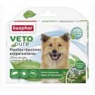 Beaphar VETOpure 3 Pipettes répulsives antiparasitaires chien moyen 15-30 kg