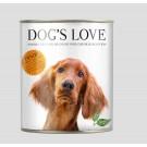 DOG'S LOVE Classic dinde boites 6 x 200 g- La Compagnie des Animaux