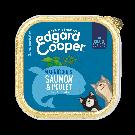 Edgard & Cooper Magnifiques Saumon & Poulet pour chat senior - La Compagnie des Animaux