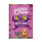 Edgard & Cooper Boite Gibier et Canard Chien Adulte 6 x 400 g- La Compagnie des Animaux