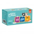 Edgard & Cooper Multipack Cabillaud & Gibier & Dinde Chat 6 x 85 g