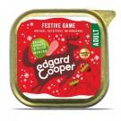 Edgard & Cooper Noel Gibier, Chou de Bruxelles & Bacon 17 x 100 g- La Compagnie des Animaux
