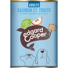 Edgard & Cooper Boite Saumon & Truite Epinards & Pommes Chien adulte 6 x 400 g- La Compagnie des Animaux -