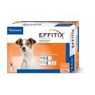 Effitix Spot On petit chien 4 - 10 kg 4 pipettes
