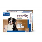 Effitix Spot On très grand chien 40 - 60 kg 4 pipettes