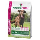 Eukanuba Natureplus+ Adult Grande Race agneau 2.3 kg - La Compagnie des Animaux