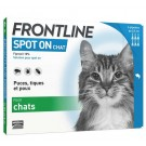 Frontline chat spot on 6 pipettes- La Compagnie des Animaux