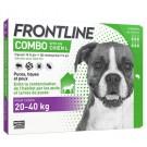 Frontline Combo Chien 20-40 kg 6 pipettes