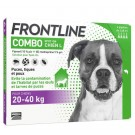 Frontline Combo Chien 20-40 kg 4 pipettes