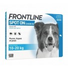Frontline Spot on chien de 10-20 kg 4 pipettes