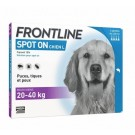 Frontline Spot on chien de 20-40 kg 4 pipettes