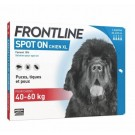 Frontline Spot on chien de 40-60 kg 4 pipettes