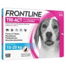 Frontline Tri Act spot on Chien Moyen 10 - 20 kg 3 pipettes