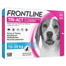 Frontline Tri Act spot on Chien Moyen 10 - 20 kg 6 pipettes