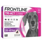Frontline Tri Act spot on chiens 20 - 40 kg 6 pipettes