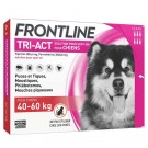Frontline Tri Act spot on chiens 40 - 60 kg 6 pipettes