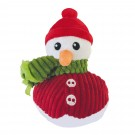 Gloria Christmas Snowman peluche pour chien - La Compagnie des Animaux