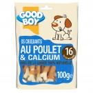 Good Boy Os croquants au Poulet + Calcium 100 grs - La Compagnie des Animaux