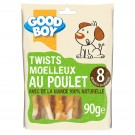 Good Boy Twists au Poulet 90 grs - La Compagnie des Animaux
