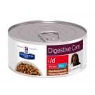 Hill's Prescription Diet Canine I/D Stress Mini mijotés au gout de poulet et de légumes 24 x 156 grs- La Compagnie des Animaux