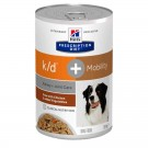 Hill's Prescription Diet Canine K/D + Mobility au poulet et légumes- La Compagnie des Animaux