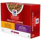 Hill's Science Plan Canine Adult Healthy Cuisine Mijotés Poulet Bœuf 8 x 80 g