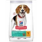 Hill's Science Plan Canine Adult Perfect Weight Medium Poulet 12 kg
