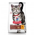 Hill's Science Plan Feline Adult Hairball Indoor Poulet 1,5 kg