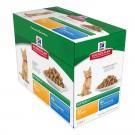 Hill's Science Plan Kitten Healthy Development Pack Mixte sachets 12 x 85 grs- La Compagnie des Animaux