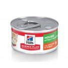 Hill's Science Plan Kitten Mousse 1ère Nutrition poulet/dinde boites 24 x 82 grs