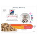 Hill's VetEssentials Feline Adult Poulet Saumon 12 x 85 g