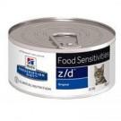 Hill's Prescription Diet Feline Z/D Ultra Allergen BOITES 24 x 156 grs