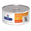 Hill's Prescription Diet Feline C/D Multicare Poulet BOITES 24 x 156 grs- La Compagnie des Animaux
