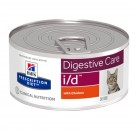 Hill's Prescription Diet Feline I/D Poulet BOITES 24 x 156 grs- La Compagnie des Animaux