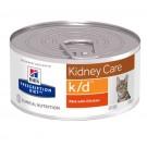 Hill's Prescription Diet Feline K/D Poulet BOITES 24 X 156 grs- La Compagnie des Animaux