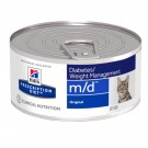 Hill's Prescription Diet Feline M/D Foie BOITES 24 x 156 grs- La Compagnie des Animaux