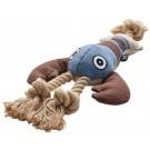 Hunter Canvas Sansibar Homard jouet pour chien - La Compagnie des Animaux