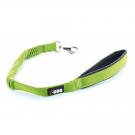 I-DOG Laisse Confort Elastique Vert/Gris 60 cm - Dogteur