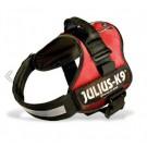 Harnais Power Julius-K9 Rouge S 40 à 53 cm