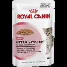 Royal Canin Kitten Instinctive âgé de 4 à 12 mois Sachet 12 x 85 g + 1 boite OFFERTE de 12 x 85 g