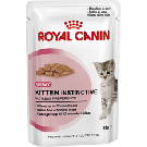 Royal Canin Kitten Instinctive âgé de 4 à 12 mois Sachet 12 x 85 grs + 1 BOITE OFFERTE