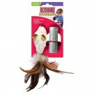 Kong Cat Refillable Feather Mouse jouet herbe à chat rechargeable - La Compagnie des Animaux