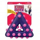 Kong Dotz Triangle jouet pour chien - La Compagnie des Animaux