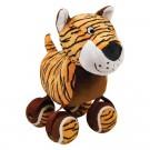 Kong TENNISHOES peluche tigre chien - La Compagnie des Animaux